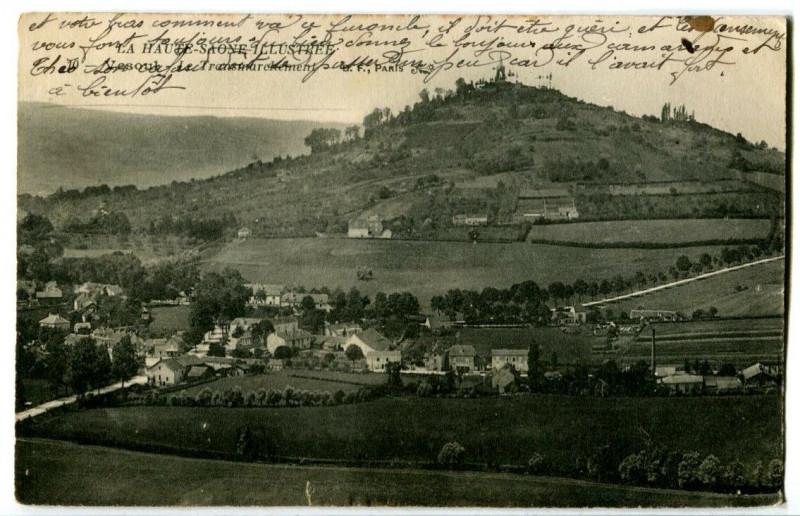 Carte postale ancienne Haute-Saône Vesoul Le transmarchement à Vesoul