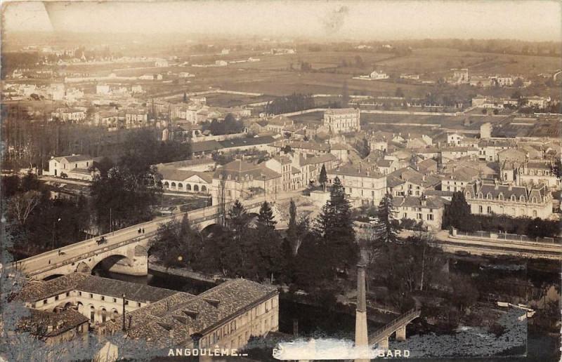 Carte postale ancienne Angouleme St Cybard à Angoulême