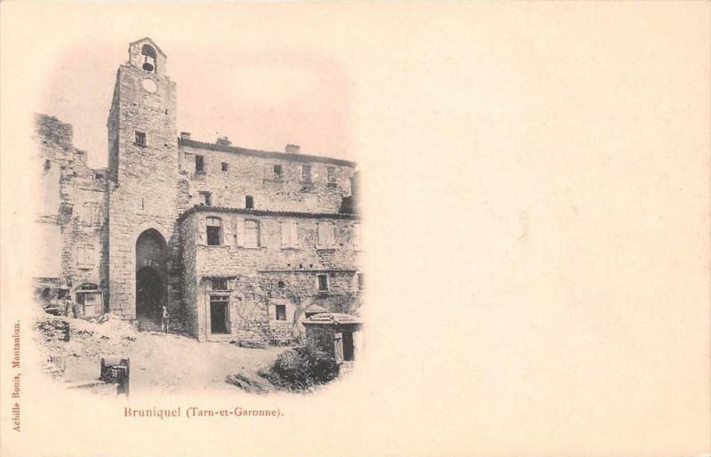 Carte postale ancienne Bruniquel  (dos non divisé) à Bruniquel