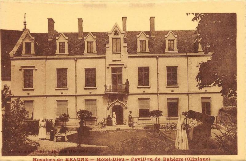 Carte postale ancienne Hospices De Beaune Hotel Dieu Pavillon De La Bahezre à Beaune