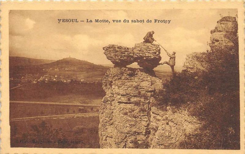 Carte postale ancienne Vesoul La Motte Vue Du Sabot De Frotey à Vesoul