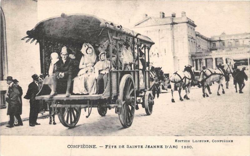 Carte postale ancienne Compiegne Fete De Sainte Jeanne D´ARC  N°3 à Compiègne