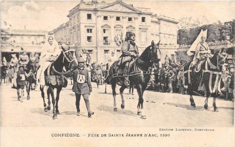 Carte postale ancienne Compiegne Fete De Sainte Jeanne D´ARC  N°4 à Compiègne