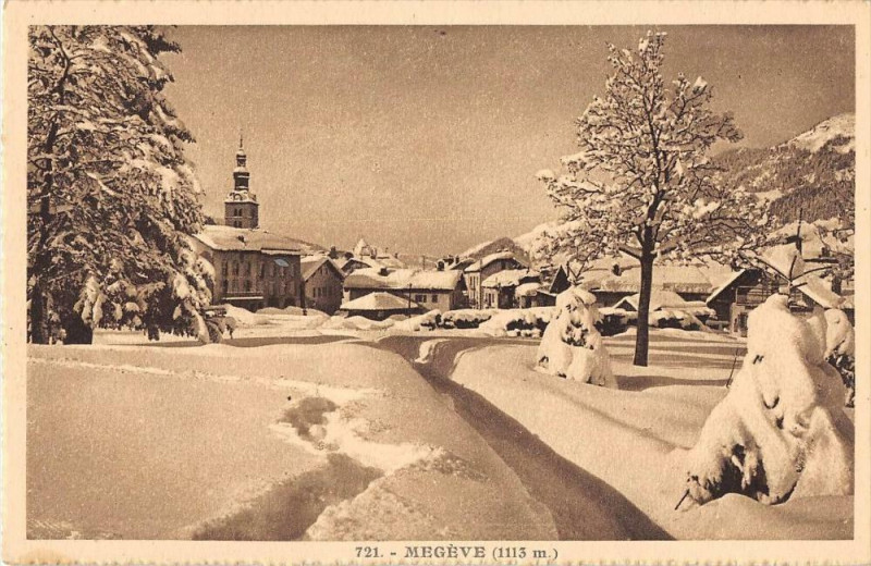 Megeve à Megève - Cartorum