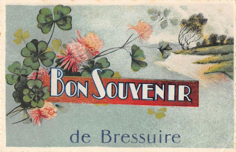 Carte postale ancienne Bon Souvenir De Bressuire à Bressuire