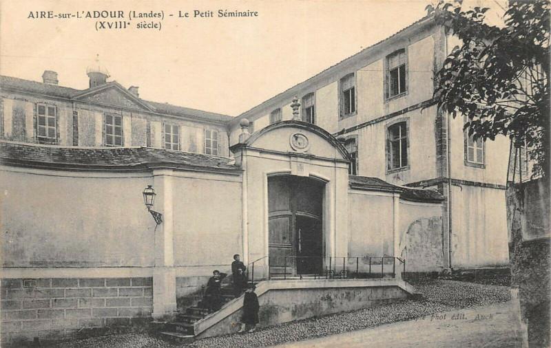 Carte postale ancienne Aire Sur L'Adour Petit Seminaire à Aire-sur-l'Adour