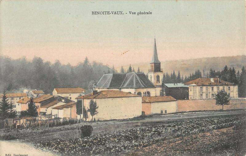 Carte postale ancienne Benoite-Vaux - Vue générale à Rambluzin-et-Benoite-Vaux