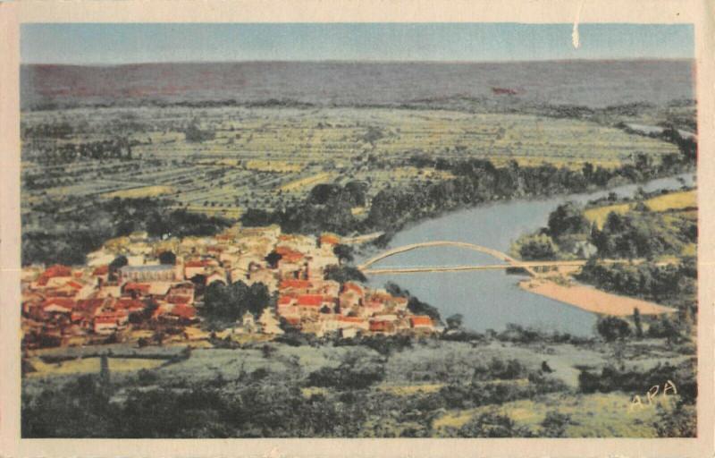 Carte postale ancienne Castelmoron Sur Lot Vue Generale à Castelmoron-sur-Lot