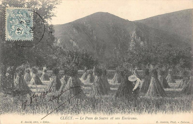 Carte postale ancienne Clecy Le Pain De Sucre Et Ses Environs à Clécy