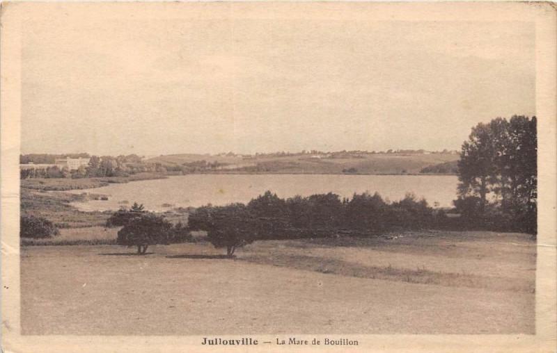 Carte postale ancienne Jullouville La Mare De Bouillon à Jullouville