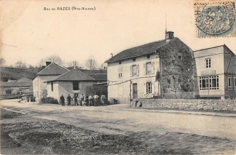 Carte postale ancienne Bas De Razes à Razès