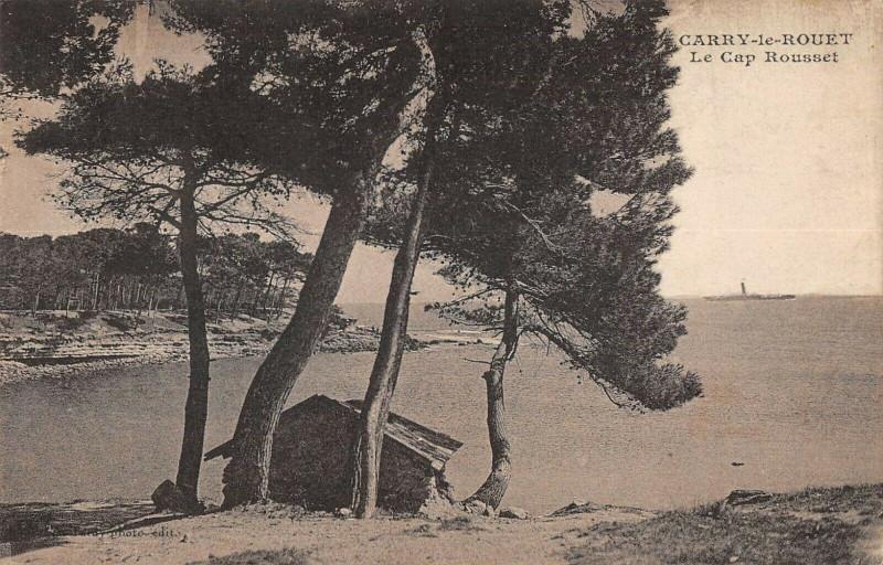 Carte postale ancienne Carry Le Rouet Cap Rousset à Rousset