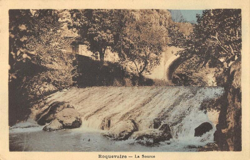 Carte postale ancienne Roquevaire La Source à Roquevaire