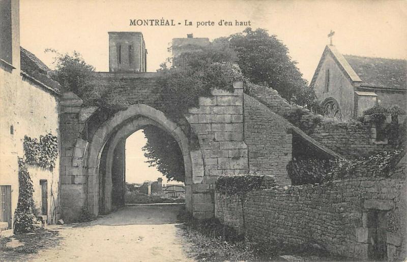 Carte postale ancienne Montreal La Porte D'En Haut à Montréal