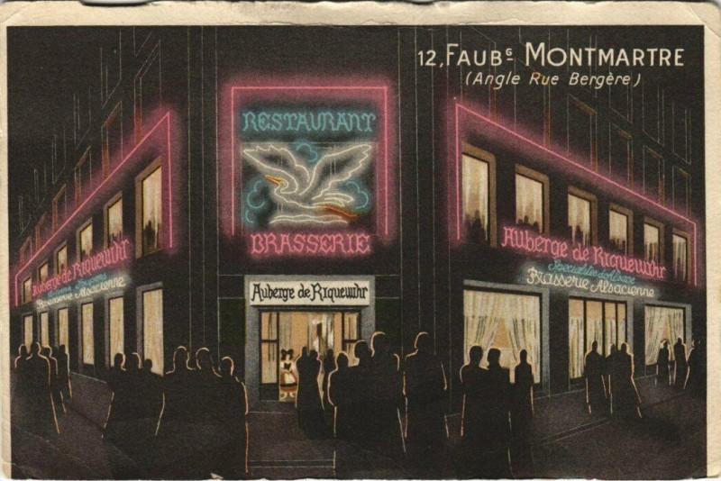 Carte postale ancienne Paris 10e - 12, Faub Montmarte à Paris 10e