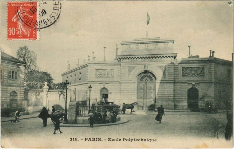 Carte postale ancienne Ecole Polytechnique à Paris 5e