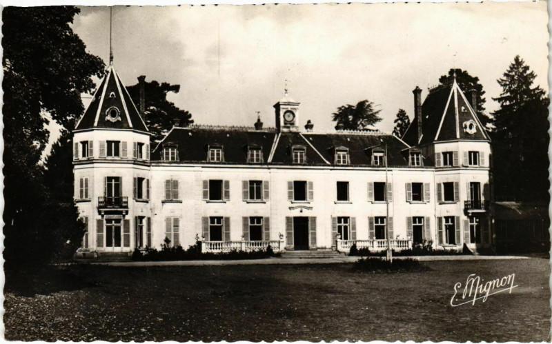 Carte postale ancienne Chaumes-en-Brie - Chateau d'Arcy  à Chaumes-en-Brie