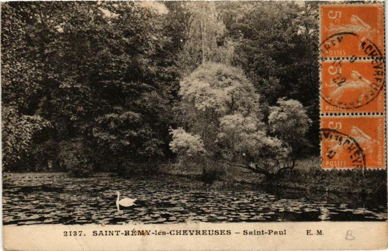 Carte postale ancienne Saint-Remy-les-CHEVREUSEs Saint-Paul à Chevreuse