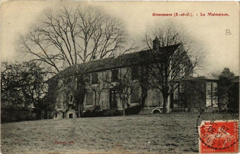 Carte postale ancienne Grosrouvre La Malmaison à Grosrouvre