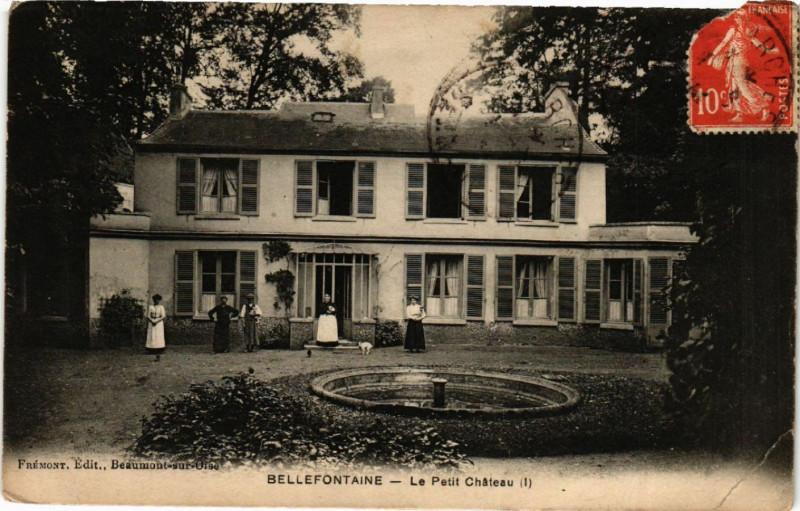 Carte postale ancienne Bellefontaine - Le Petit Cháteau à Bellefontaine