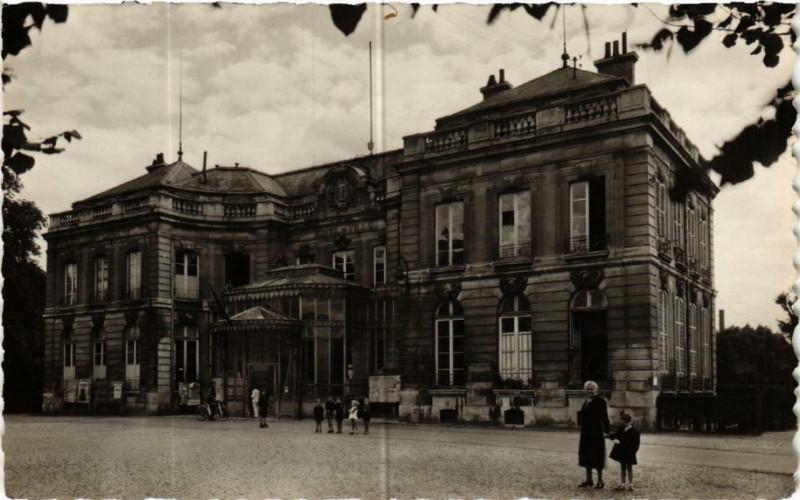 Carte postale ancienne Epinay-sur-Seine L'Hotel de Ville à Épinay-sur-Seine