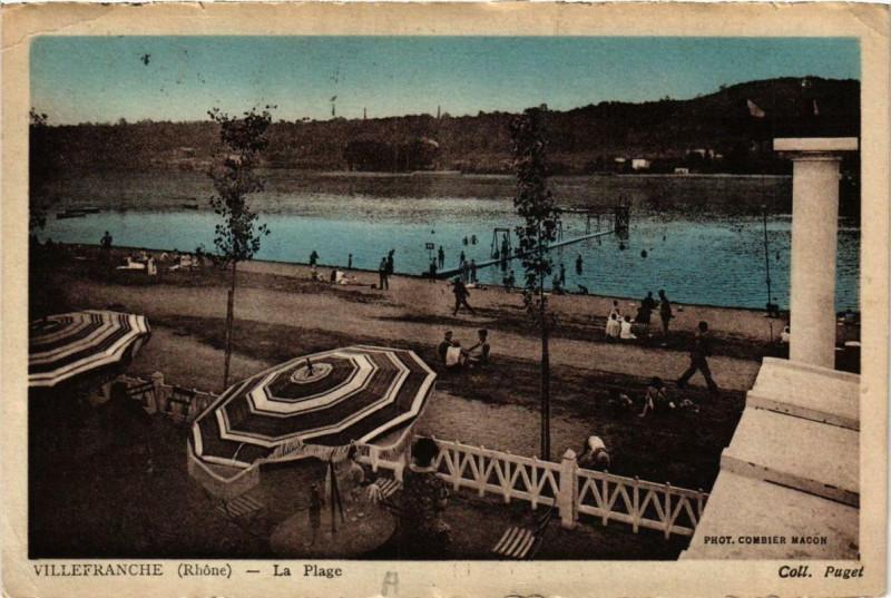 Carte postale ancienne Villefranche La Plage