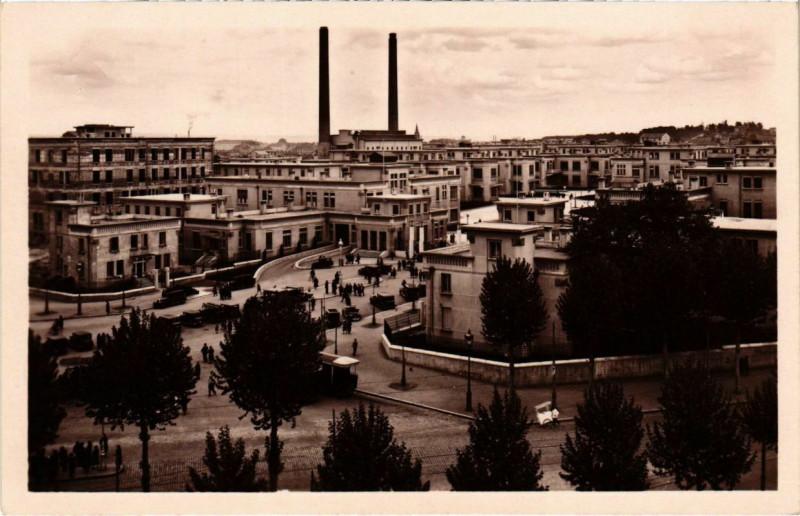 Carte postale ancienne Grange-Blanche - Vue d'Ensemble des Nouveaux Hopitaux