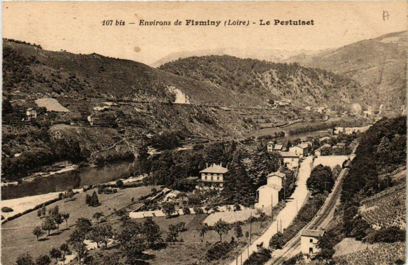 Carte postale ancienne Le Pertuiset-
