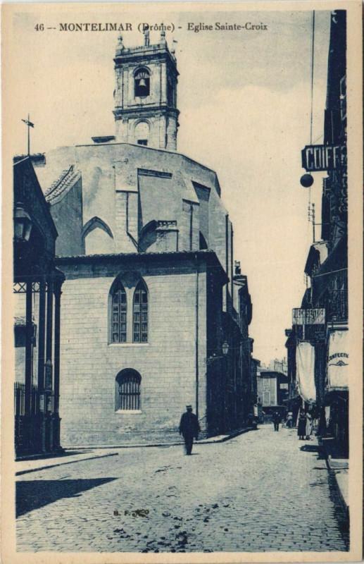 Carte postale ancienne Montelimar Le Theatre France à Montélimar