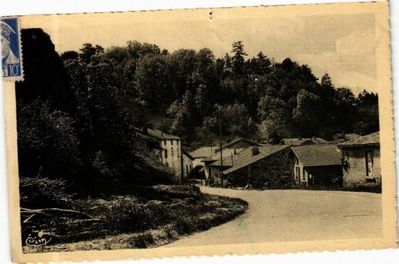 Carte postale ancienne Coligny Vieux Coligny à Coligny