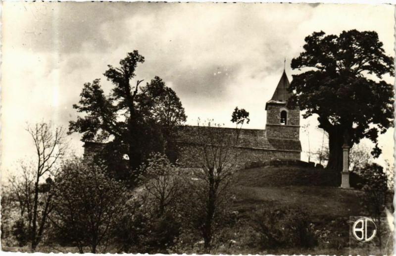 Carte postale ancienne Vues de l'Ain Innimond L'église à Innimond