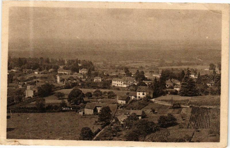 Carte postale ancienne Coligny Vue générale à Coligny