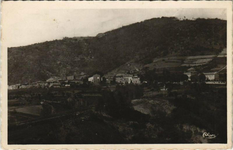 Carte postale ancienne Saint-Georges-les-Bains - Vue générale à Saint-Georges-les-Bains