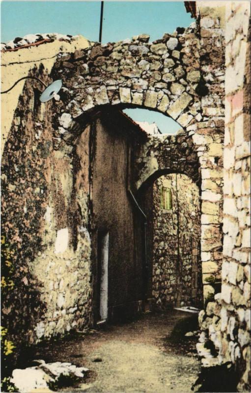 Carte postale ancienne Mons Arcades du Vieux Chateau à Mons