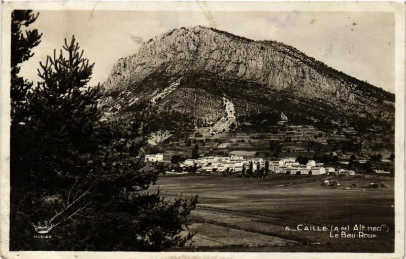 Carte postale ancienne Caille - Le Bau-Roux à Caille