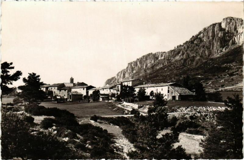 Carte postale ancienne Andon- vue generale France à Andon