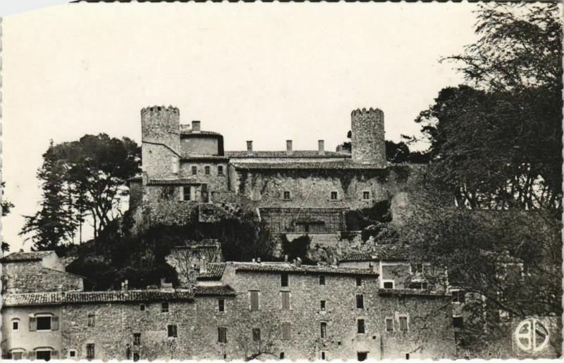 Carte postale ancienne Mirabeau Le Chateau à Mirabeau