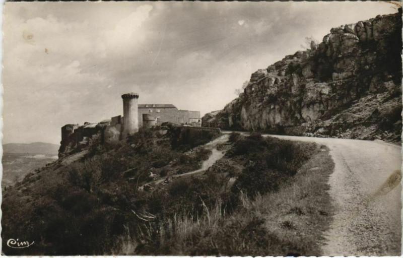 Carte postale ancienne Viens Le Chateau à Viens