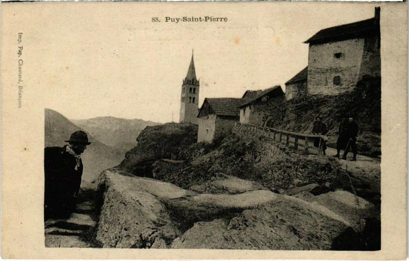 Carte postale ancienne Puy-Saint-Pierre à Puy-Saint-Pierre