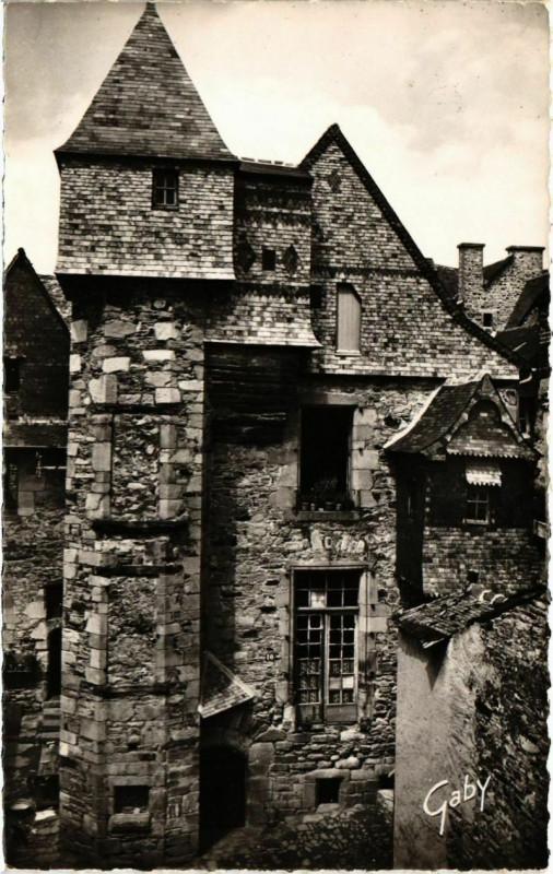 Carte postale ancienne Vitre Hostellerie du Bol d'Or France à Vitré