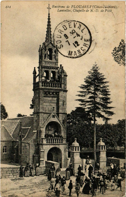 Carte postale ancienne Plouaet - Lanvellec à Lanvellec