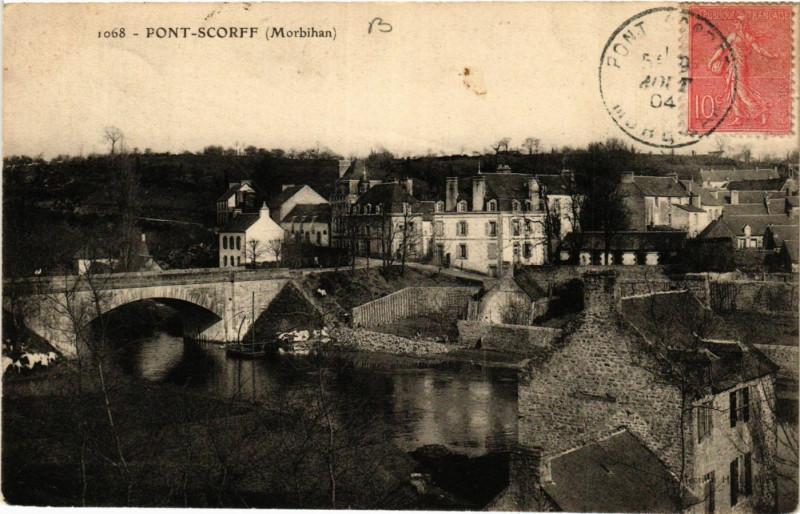 Carte postale ancienne Pont-Scorff à Pont-Scorff