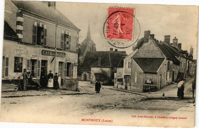 Carte postale ancienne Montbouy à Montbouy