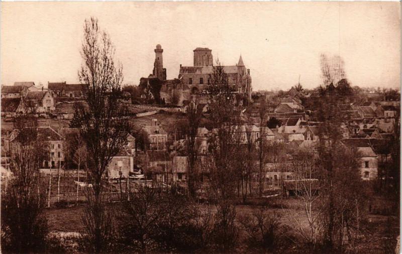 Carte postale ancienne Le Grand-Pressigny - Vue générale au Grand-Pressigny