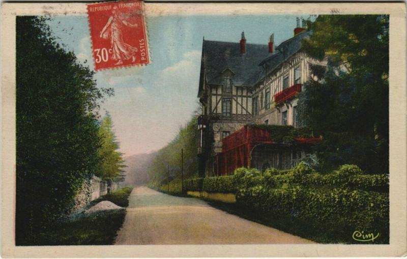 Carte postale ancienne Freteval - Le Chalet à Fréteval