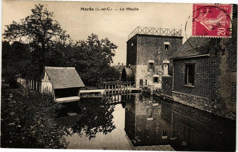 Carte postale ancienne Moree (L.-et-Ch.) - Le Moulin à Morée