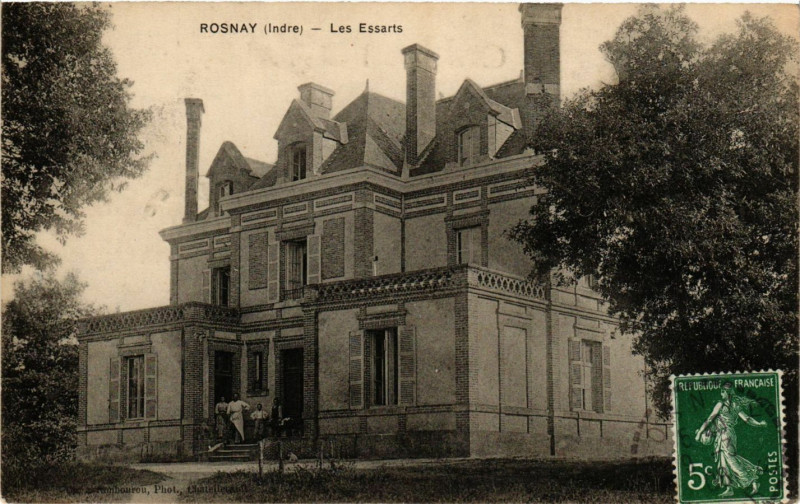 Carte postale ancienne Rosnay - Les Essarts à Rosnay