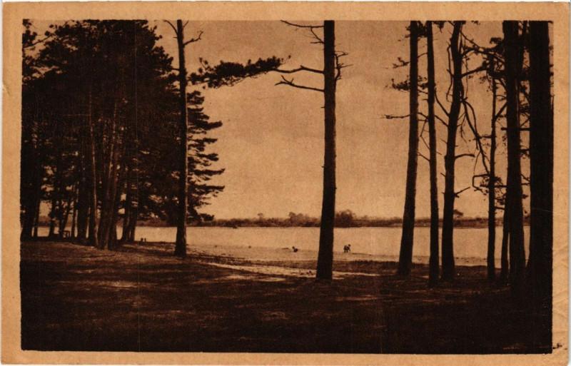 Carte postale ancienne Mezieres-en-Brenne - Belle-Bouche - La Plage à Mézières-en-Brenne