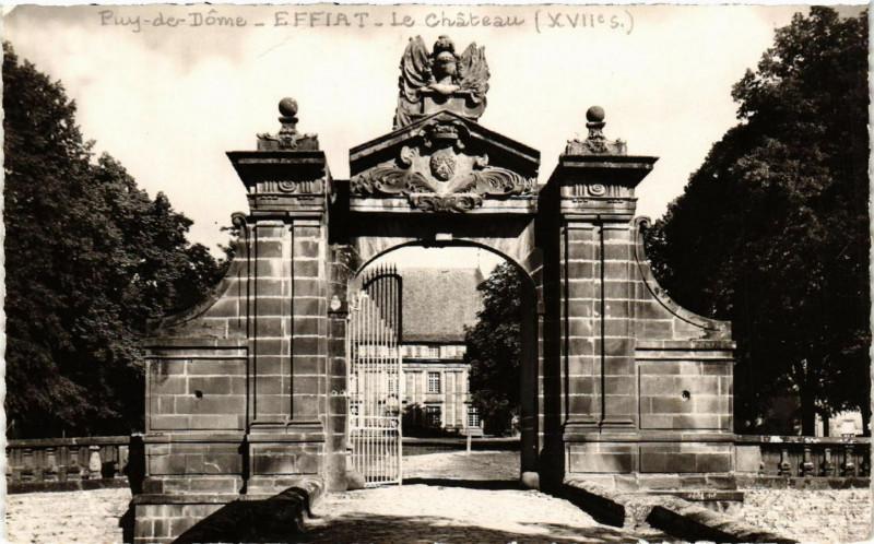 Carte postale ancienne Effiat Le Chateau à Effiat