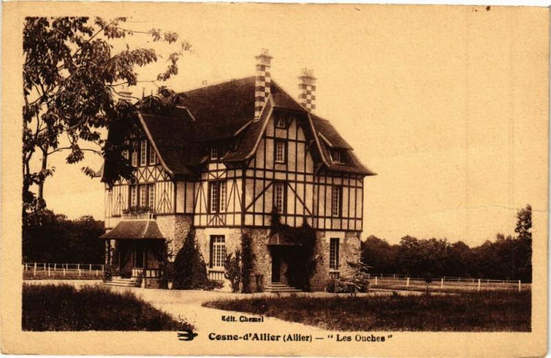 Carte postale ancienne Cosne-d'Allier Les Ouches à Cosne-d'Allier